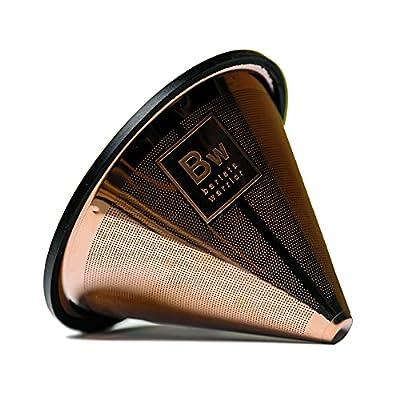 5B. TITANIUM COATED GOLD Coffee Filter