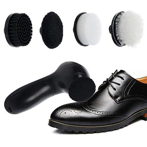 XGLL Zapatos Eléctricos Pulidor De Limpieza Kit De Brillo De Zapatos Kit...