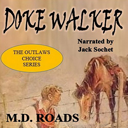 Doke Walker audiobook cover art