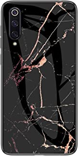 """MOONCASE ケース 用 Meizu 16Xs, 超薄型 柔らかい TPU 耐衝撃性 引っかき傷に強い 指紋防止 カラフルなパターンとガラス ケース 用の Meizu 16Xs 6.2"""" (ゴールドシルク)"""