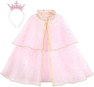 Disney Princess Cape and Crown Headband Set