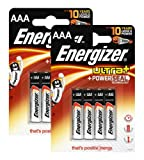 Energizer Original Batterie Ultra Plus Micro AAA (1,5 Volt,