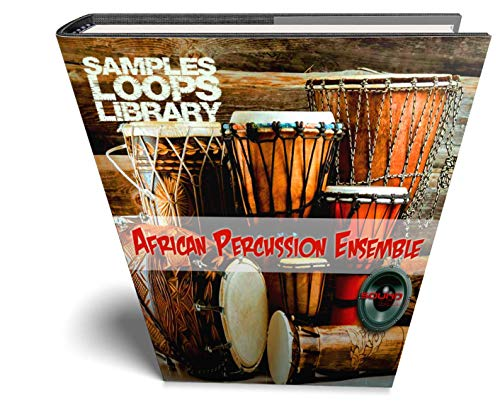 African Percussion Ensemble – Große Original 24 Bit Wave / Kontakt Samples/Loops Bibliothek