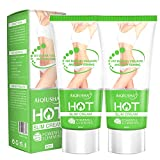 Best Cellulite Gel Creams - Hot Cream 2 Pack, Cellulite Slimming & Firming Review