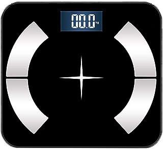 Báscula Digital Peso Corporal Báscula de baño Balanza industrial con Paso-On Technology, pantalla LCD báscula inteligente