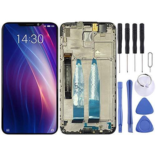 De Galen Accesorios Kits Pantalla Táctil para Meizu Pantalla LCD y Digitalizador Asamblea Completa con Marco para Meizu X8 Reemplazo