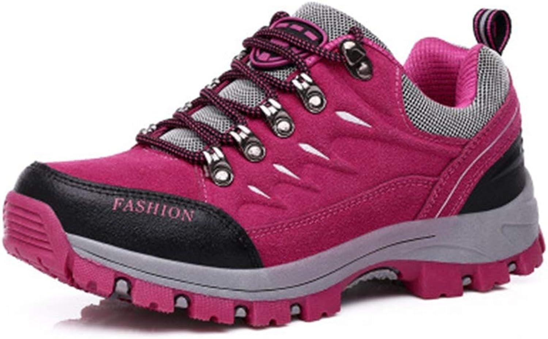 GIY Women's Waterproof Hiking shoes Outdoor Running Hiker Non-Slip Casual Trail Backpacking Climbing shoes