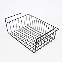 Kitchen Cabinet Storage Shelf Layered Basket Under The Partition
