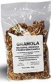 Granola de Manzana, Pecanas y Pasas con Canela (Bolsa 300gr)