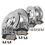 Callahan CCK06999 [4] FRONT + REAR OEM Brake Calipers + [4] OE Rotors + Ceramic Pads + Hardware [fit Volkswagen Jetta ]