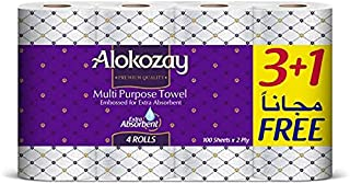MULTI-PURPOSE TOWEL 3+1 ROLLS X 2 PLY X 100 SHEETS - PACK OF 6