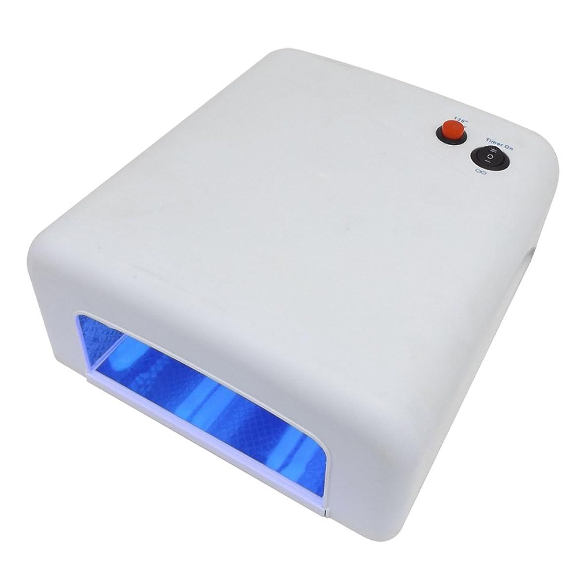 まもなくシェアとして(ウォームガール)Warm Girl ネイルランプ ネイルライト 36W紫外線ランプ ホワイト