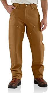 Men's Firm Duck Double-Front Work Dungaree Pant B01