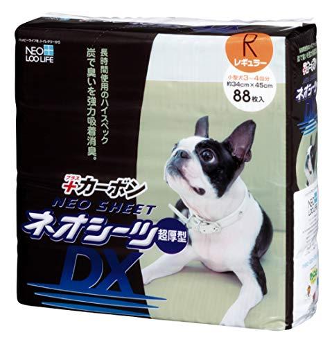 ネオ・ルーライフ ネオシーツ カーボン DX 犬用 レギュラー 88枚