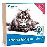Tractive IKATI 2019 nouveau traceur GPS chat pour tout collier chat avec suivi d'activité