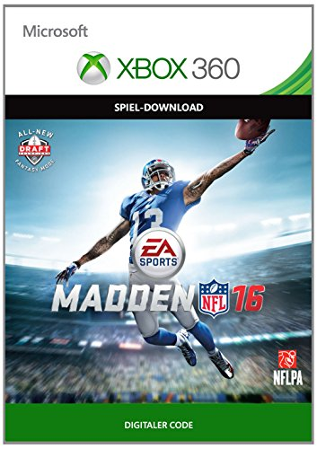 Madden NFL 16  [Xbox 360 - Download Code]