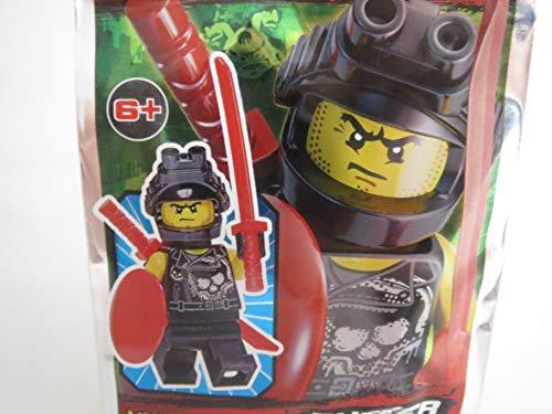 Lego Ninjago Figur Buffer mit Zwei Schwertern und schützendem Schild - Limited Edition - 891838 - Polybag -