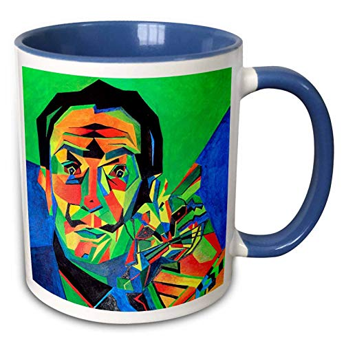 Salvador Dali Abstract Mug, 11 oz, Multicolor