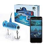 Eco-Popper | World's First Digital Fishing Popper | HD Underwater Camera w/Wireless Charging (Golden Shiner)
