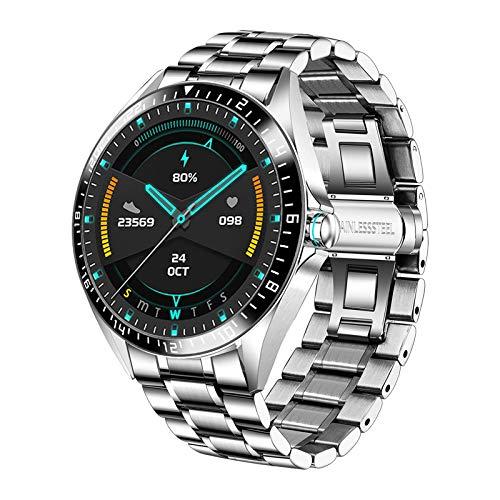Smart Watch für Herren, Fitness Tracker mit Blutdruck Sauerstoff Herzfrequenz, IP68 Wasserdicht Fitness Activity Uhr Luxus Sport Kalorienzähler für iOS Android Handys