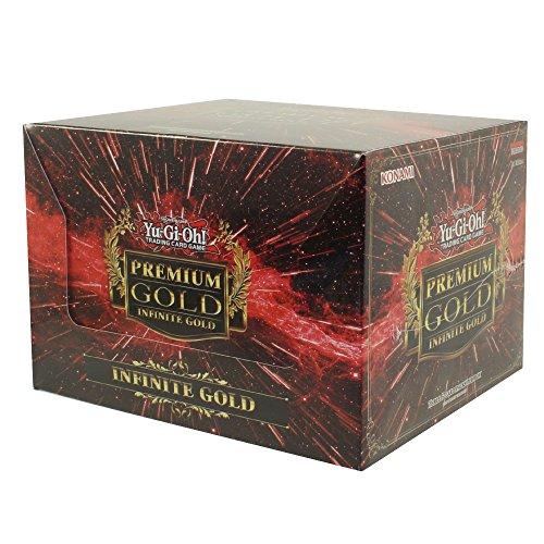 YuGiOh Premium Gold Infinite Gold Display Box [5 Mini Boxes]