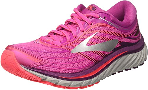 Brooks Damen Glycerin 15 Laufschuhe, Pink (Pink/Purple/Silver 1b608), 36.5 EU