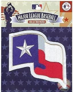 texas rangers flag patch