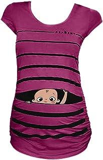 YUHX Femmes You are My Sunshine T-Shirt Chemises Graphiques Arc en Ciel Ensoleillement /à Manches Courtes pour Femmes