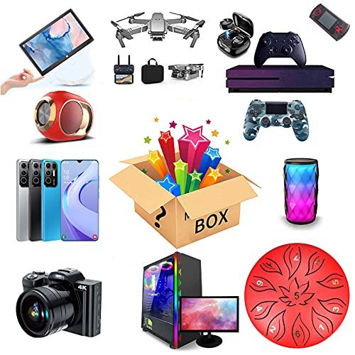 JEDNF Mystery Box Electronics, Scatole Fortunate Mysterious Blind Box, Scabine cieche Casuale a Sorpresa, Super Costofficace, Questo è Un Gioco di Fortuna e Avventura
