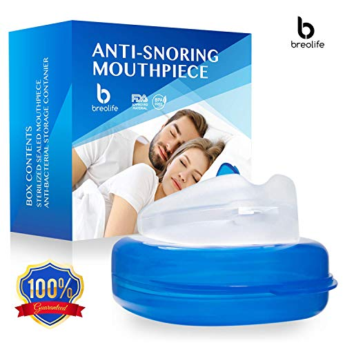 BreoLife Best Anti Snoring Solution - Anti Snoring Mouthpiece - Anti...