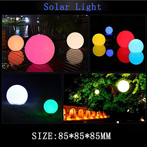 Led Solar Lights Waterproof Floating Night Lamp For Ponds Garden Villa Plaza Outdoor Landscape Decoration Light 7 Color Changing