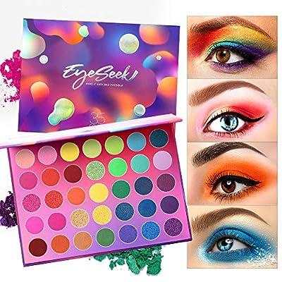 Eyeseek Colorful Eyeshadow Palette