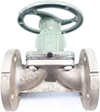 ITT 303-469 Grinnell Manual Stainless FLANGED 1-1/2IN Diaphragm Valve