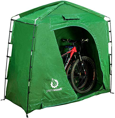 The YardStash IV Heavy Duty Outdoor Bicycle Storage Tent