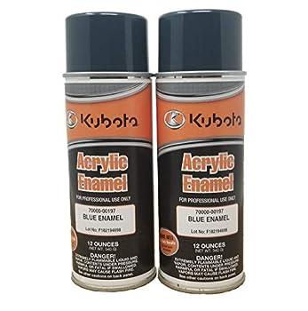 kubota gray spray paint
