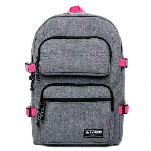 [バイモス]BYMOSS マキシマム リュック 6シリーズ(Maximum Backpack 6Series) (グレーピンク) [並行輸入品]