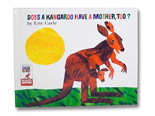 """Eric Carle Does a Kangaroo Have a Mother Too? Book & Plush Toy 11"""" (Bundle) (Kohl's Cares)"""