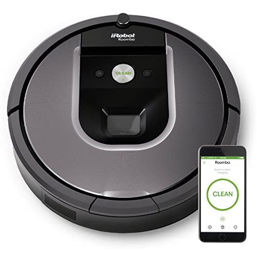 iRobot Roomba 960 Robot Vacuum with Wi-Fi Connectivity, Works with Alexa, Ideal