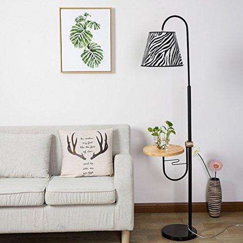 Lampe de sol de jour et Lampadaire, salon canapé lumière E27 220V chambre lampe de chevet lampe de table basse (Couleur : LED warm light 8W)