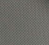 19' x 28' 14CT Counted Cotton Aida Cloth Cross Stitch Fabric (Grey)