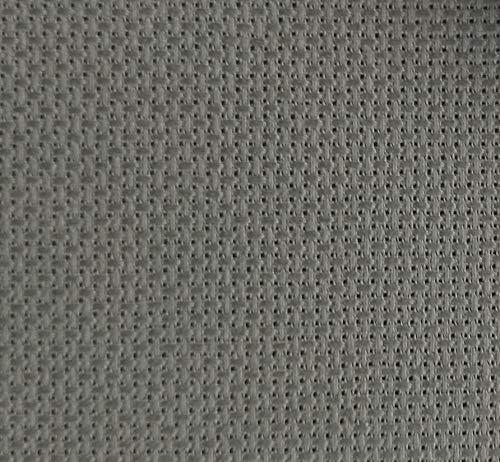 "19"" x 28"" 14CT Counted Cotton Aida Cloth Cross Stitch Fabric (Grey)"