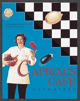Hardcover Caprial's Cafe Favorites Book