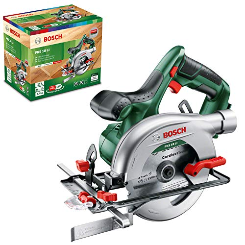 Bosch Cordless Circular Saw PKS 18 LI (without battery, 18...