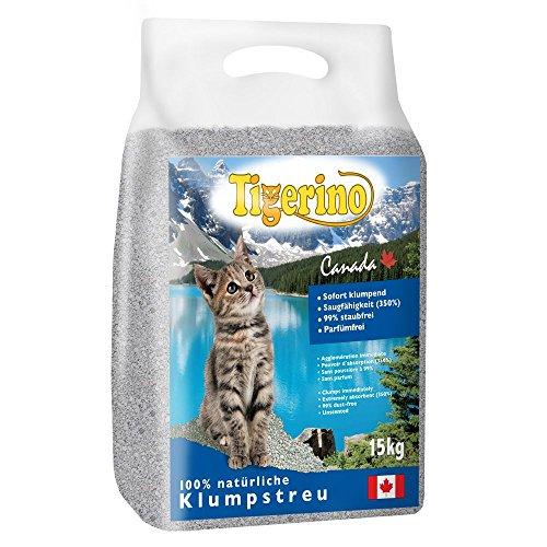 Tigerino Doppelpack Canada Katzenstreu-Sensitive (Parfümfrei) 2 x 12kg