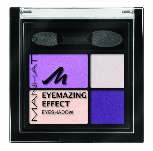 Manhattan Eyemazing Effect Lidschatten 65H (falling for purple), 3er Pack (3 x 5 g)