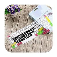 for HP OMEN 15 15-CE015DX 15-CE013DX 15-CE011DX CE018DX 15-CE019DX 15-CE051NRのシリコンラップトップキーボードプロテクターカバースキン-Color 2-
