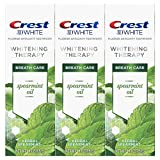 Spearmint: Crest 3D White Whitening Therapy Spearmint Oil, 4.1Oz Triple Pack blindfolds May, 2021
