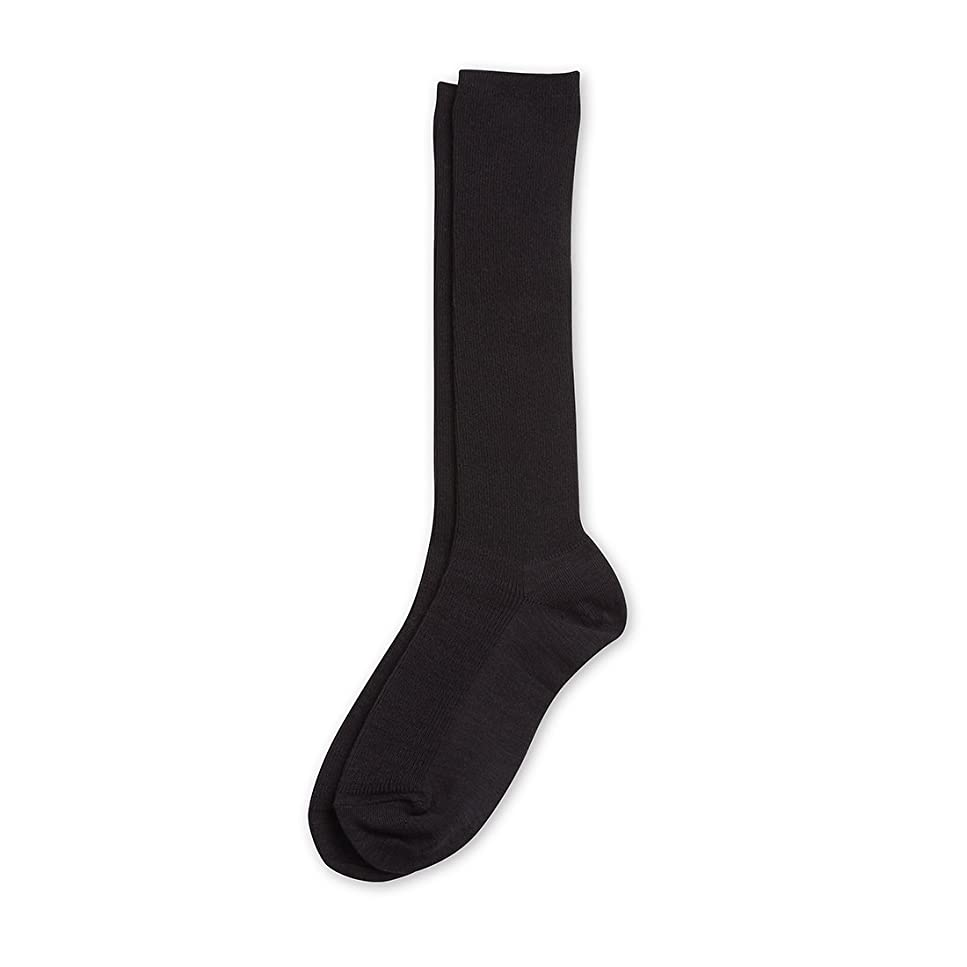 シプリーポケット彼女自身Deol(デオル) ハイソックス 女性用 日本製 靴下 黒 23cm-25cm
