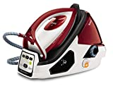 Tefal GV9061 Pro Express Care High Pressure Steam Generator Iron, 2400 W, White/Red