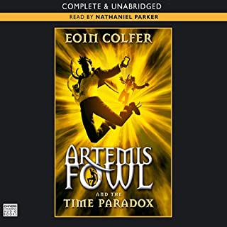 The Time Paradox: Artemis Fowl, Book 6 audiobook cover art
